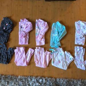 Bundle of size 24M pajamas